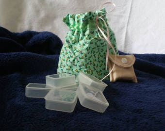 Pill Carrier for Pocket or Purse for your Medicine or Vitamins