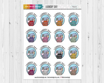 Laundry Day Planner Stickers | 17346-02