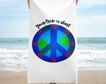 Your Trip is Short - Beach Towel
