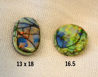Sterling Opal cabochons B or C each sold separately