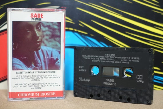Promise by Sade Vintage Cassette Tape