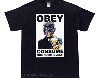 They Live Obey Horror T-Shirt