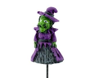 My Fairy Gardens  Mini - Micro Mini Witch Pick - Miniature Supplies Accessories Dollhouse