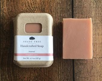 Grapefruit Lime Soap. Grapefruit Soap. Citrus Essential Oil Soap. Kaolin Clay Soap. Rose Clay. Gifts Under 10. Handcrafted Soap. Natural