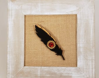 Feather Pin