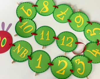 Hungry Caterpillar 12 month Banner