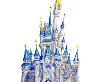 Cinderella Castle - Walt Disney World