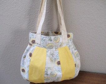 Yellow Sunflower Handbag
