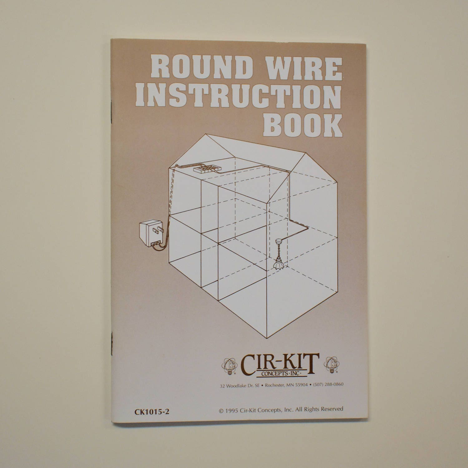 round wire instruction book cirkit concepts for installation of rh etsystudio com Dollhouse Wiring Tape Systems Dollhouse Wiring Tutorial
