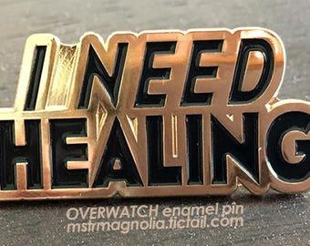 I need Healing enamel pin