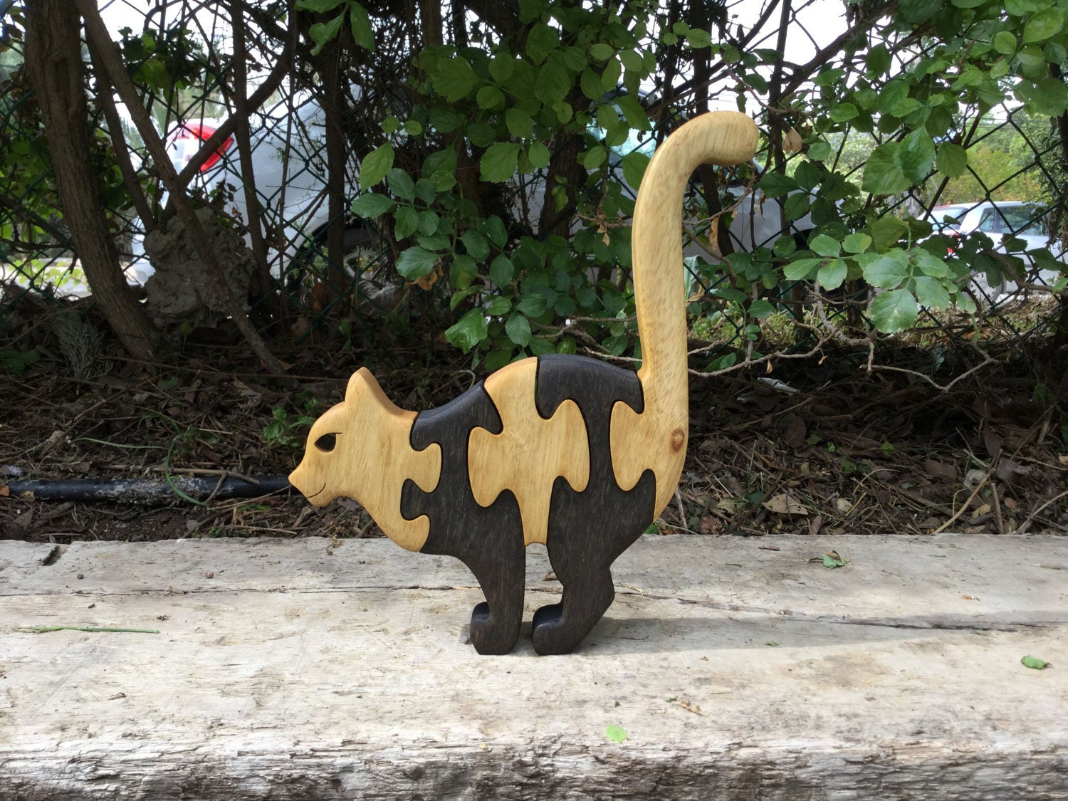 Cat Puzzle Gift For Kids Adults Wood Puzzle Wooden Toy # Muebles Lifetime Espana