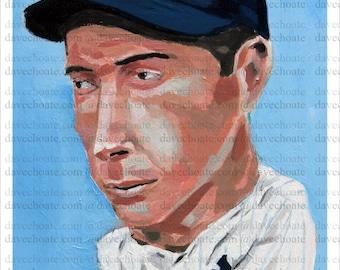 Joe DiMaggio, New York Yankees Art Photo Print
