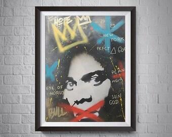Graffiti King Basquiat