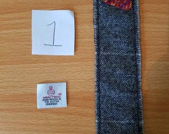 Harris Tweed bookmarkers