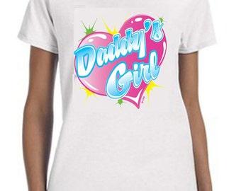 Daddy's Girl  Tee-Shirt, Kids Clothing, Kids Shirt, Gift For Christmas, Daddys Girl