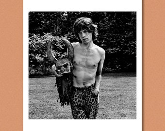 MICK JAGGER - The Rolling Stones Outtake, Toronto 1994 --- Giclée/Photo print
