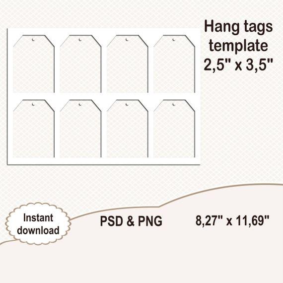 hang tags template