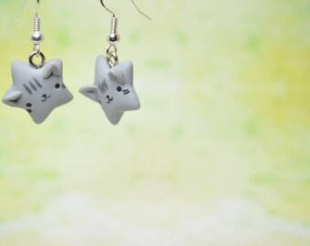 Kawaii Cat Stars