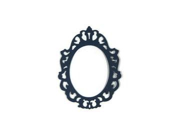 Oval Paper Frame Die Cut set of 6