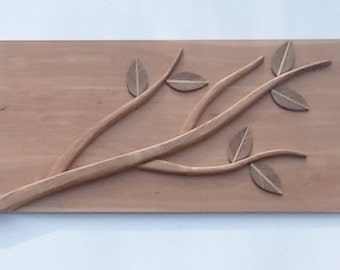 Wood Carving - Wall Art - Nature - Tree ; 'branching out'