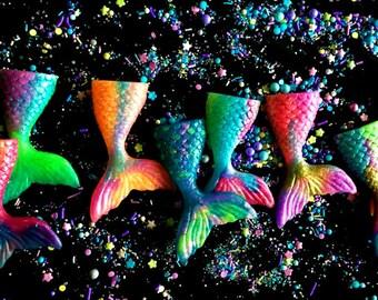 Mermaid Soap - Mermaids -  20 Mermaid Party Favors - Mermaid Baby Shower - Individually Packaged - FREE SHIPPING - Birthdays - Soap for Kids