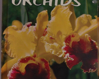 VINTAGE Book, 1975 Book How to Grow Orchids, Pre-owned, No Torn Pages, Lots of Information