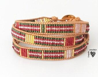 Wrap around the wrist wrap bracelet