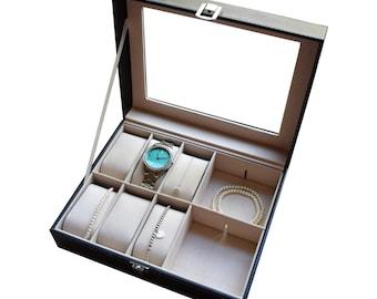 Custom Jewelry Box, Jewelry Box Personalized, Jewelry Box for Girls, Engraved Jewelry Box, Gifts for Mom, Gift for Women, Gift for Girls