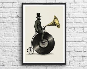 Art-Poster 50 x 70 cm - Music man