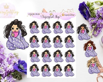 Miss Glam Lady D Cozy Up Sticker Sheet