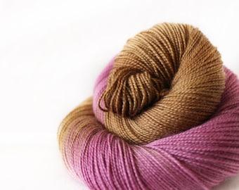Figgy Pudding - Gosling - 80/10/10 superwash merino/ cashmere/ nylon sock yarn