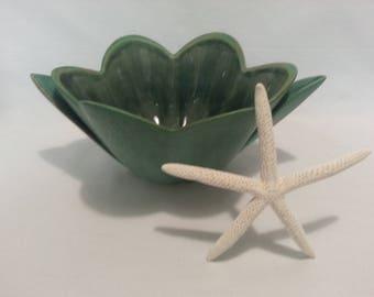 Blue Mountain Pottery Style Vessel Planter Dish