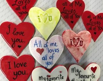 Valentine Fridge Magnets