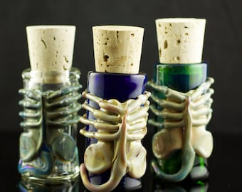 Facehugger Glass Jar in Your Choice of Color