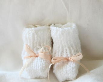 Knit Baby Boots