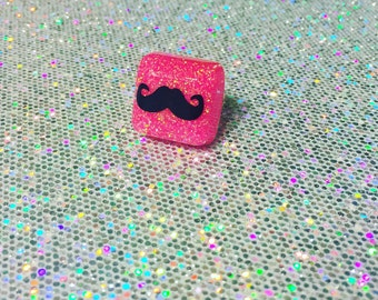 Mustache Ring - SALE