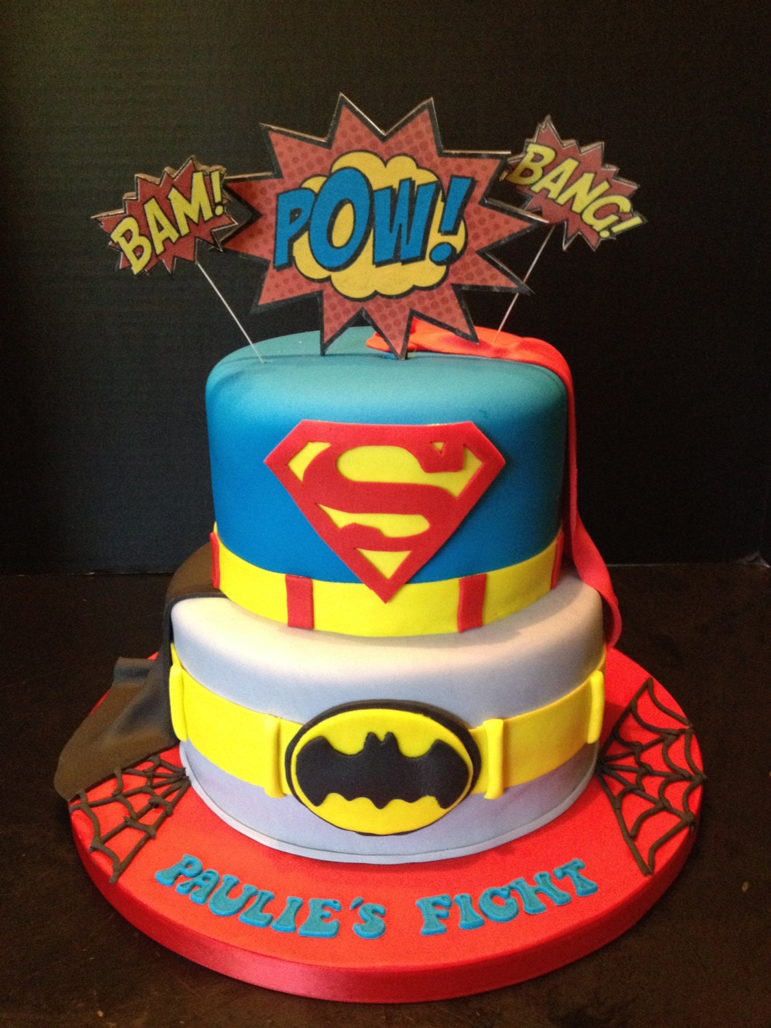 Superman Cake Decorating Ideas