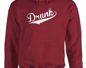 DRUNK - Adult Hoodies