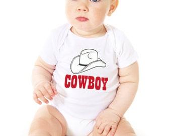 Baby onesie COWBOY
