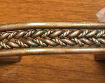 Copper Twist Bracelet