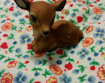 global art tiny deer figurine