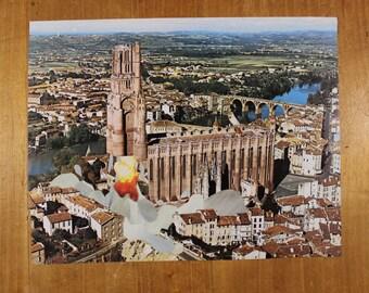 Original collage - launch