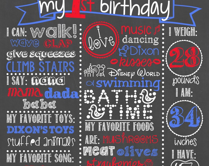 Baseball Birthday Chalkboard / Baseball First Birthday Chalkboard / Sports Birthday Chalkboard /Baseball Sports Birthday Chalkboard/Baseball