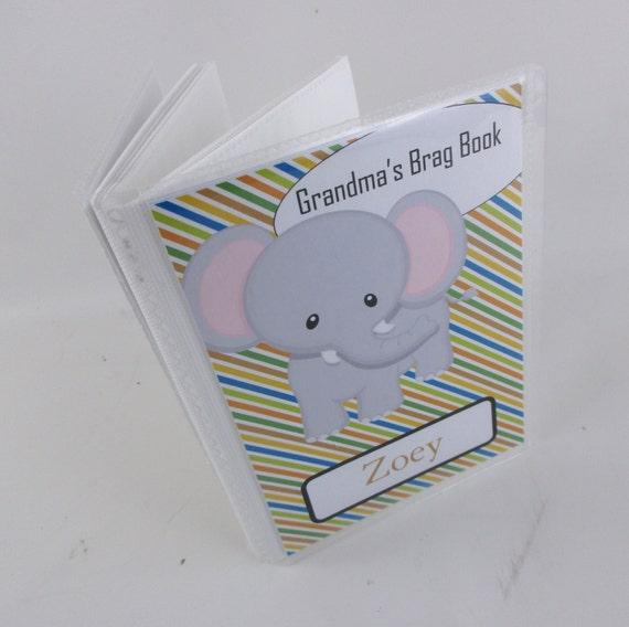 grandmas brag book baby photo album boy photo album