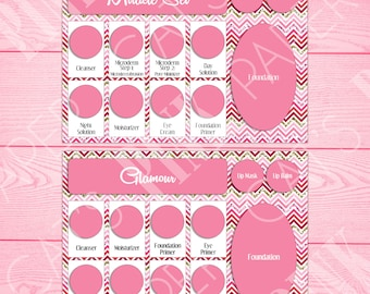 Tray Inserts | Chevron | Miracle Set | Glamour Set
