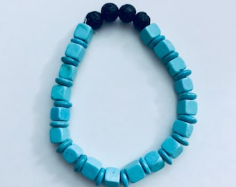 Childrens Essential Oil Lava Bead Diffuser Bracelet