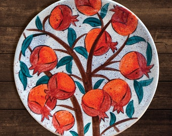 Pottery, Spirit of Art, Handmade Plate