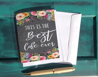Best Life - preaching work - jw greeting cards - jw cards - jw pioneer - jw pioneer gifts - jw pioneer card - best life ever