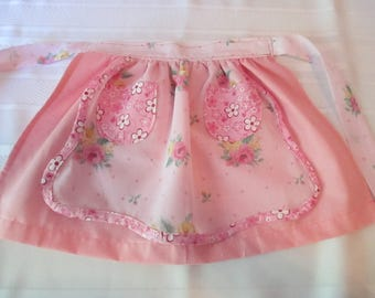 Pretty in Pink Child's Apron