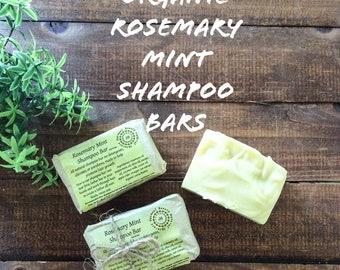 Rosemary Mint Shampoo Bars